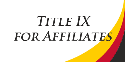 "Button link with text ""Title IX Affiliate"""