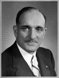 Portrait of Dr SDH from the 1950s