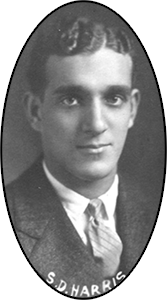 Image of Dr. SDH in UMICH Yearbook
