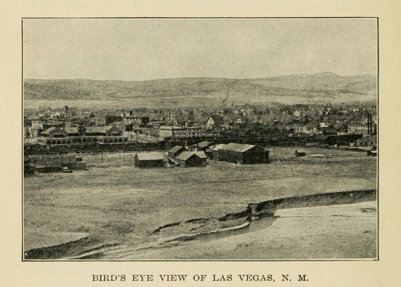 Bird's eye view of Las Vegas - unknown date