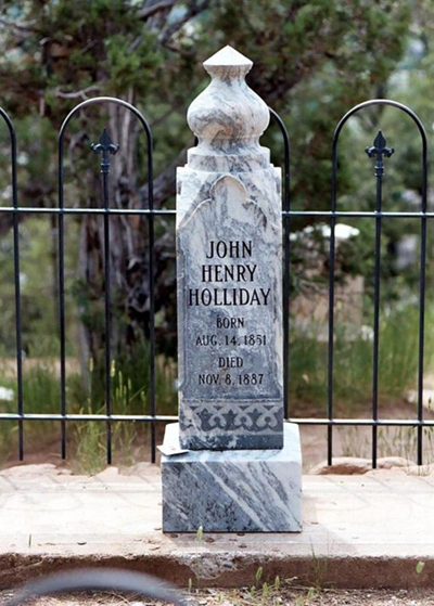 Supposed Grave Site of John Henry Holliday in Glenwood Springs, Colorado