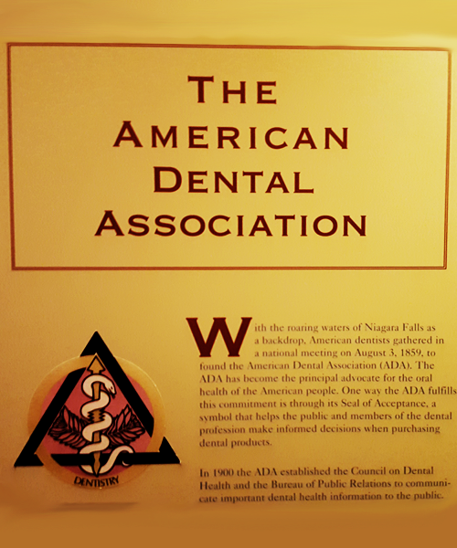 American Dental Association Exhibit Panel