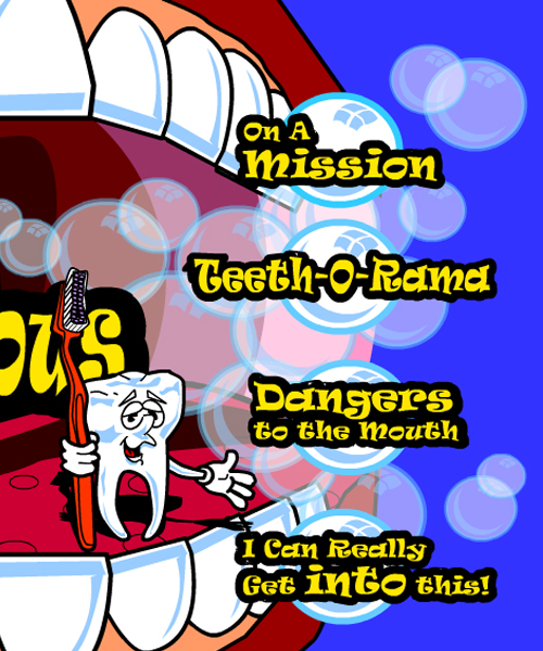 Image of title page for The Marvelous Mouth interactive computer program