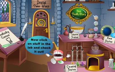 Mouthie's online laboratory screenshot