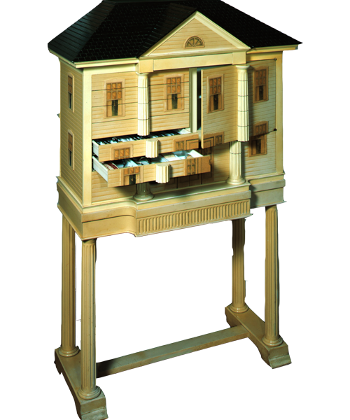 Image of Doll House Dental Cabinet