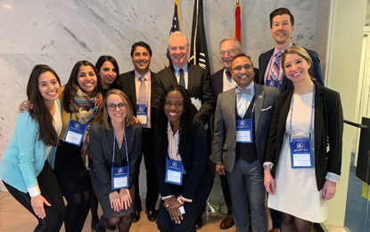 UMSOD representatives from the Division of Pediatric Dentistry visited Capitol Hill
