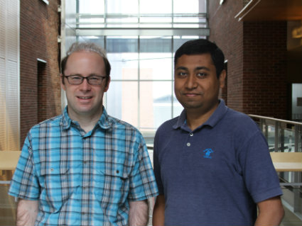 Dr. Bryan Krantz and Dr. Debasis Das made a crucial discovery while studying the anthrax toxin