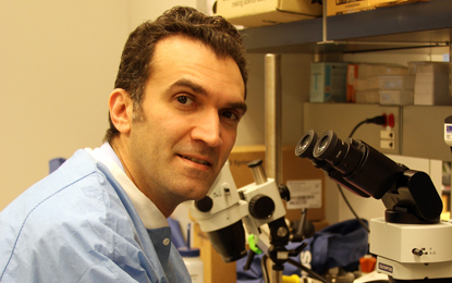 Radi Masri, DDS, MS '01, PhD '05, associate professor in the Department of Advanced Oral Sciences and Therapeutics.