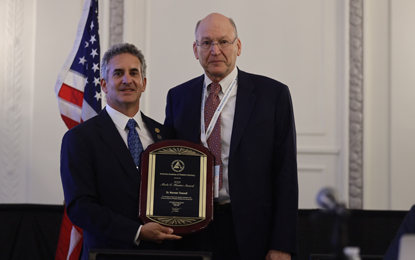 Norman Tinanoff, DDS '71, MS, He is the 2018 recipient of the American Academy of Pediatric Dentistry's (AAPD) Evidence-Based Dentistry Service Award, which recognizes a pediatric dentist who has made a major contribution on a national or international level to the dental profession.