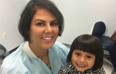 Lida Alimorad, DDS '10, manages four clinics helping the underserved in Maryland