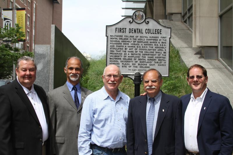 UM School of Dentistry past alumni board presidents