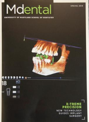 Cover of the Spring 2018 issue of Mdental