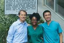 Photo of Ben Horne, LaShonda Shepherd, and Dan Yang