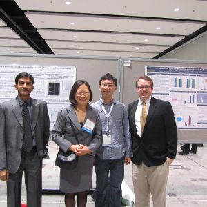 Dr. Lowe and fellow researchers at the 2012 AAPS Annual Meeting in Chicago